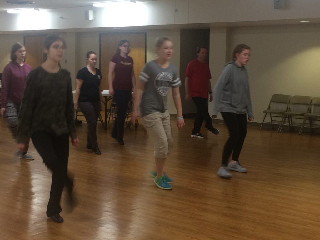 Step Class learning the basics