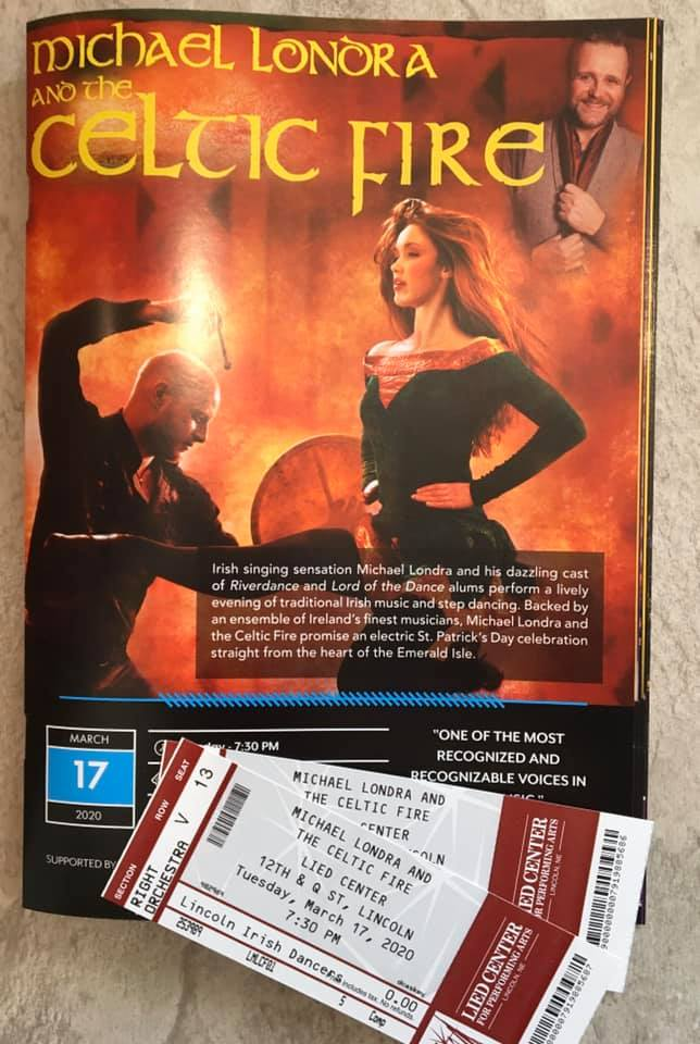 Celtic Fire March 17 tickets
