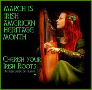 March Irish American Heritage Month